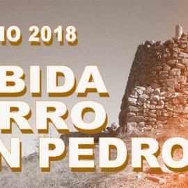 SUBIDA CERRO DE SAN PEDRO | 11 DE JULIO DE 2018 | SORTEO DORSAL